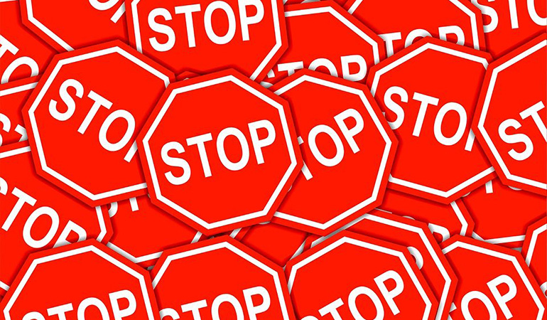 Stop! Just Stop!